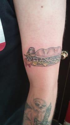 Shark's Bite Tattoo