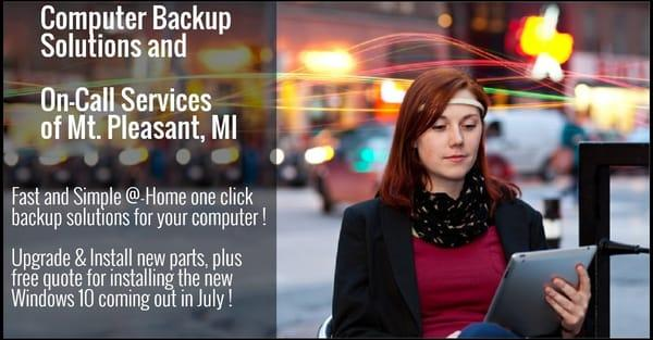 Computer Backup Solutions & On-Call Repair Services