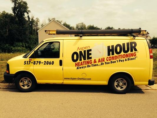 Aspen One Hour Heating and Air Conditioning