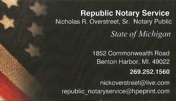 Republic Notary Service