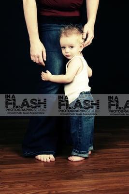 In a Flash Photographic Studio