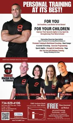 Thrive Martial Arts and Fitness