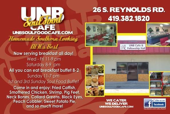 """Unb """"Soul Food"""" Cafe"""