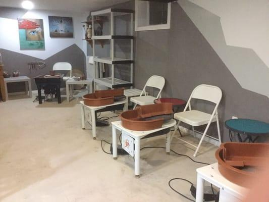 Earthbound Designs Pottery Studio