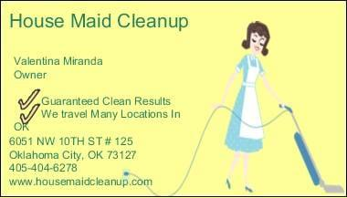 House Maid Cleanup