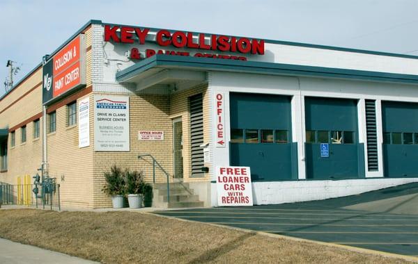 Key Collision & Paint Center