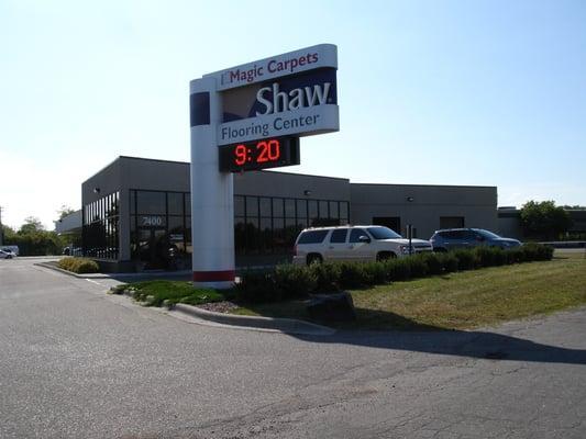Magic Carpets, Your Shaw Flooring Center