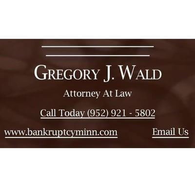 Gregory J. Wald, Attorney at Law