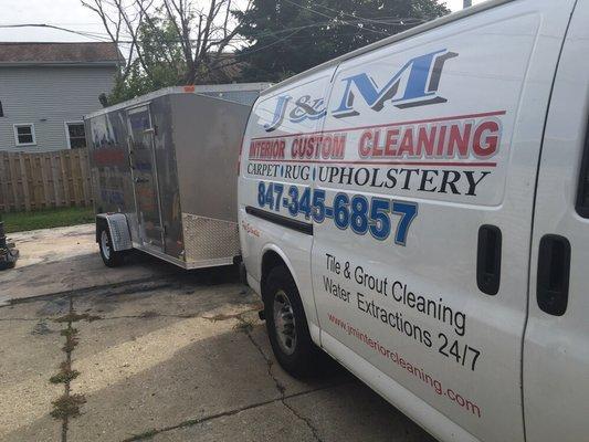 J&M Interior Custom Cleaning & water restoration