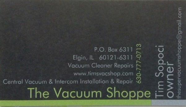 The Super Vacuum Shoppe