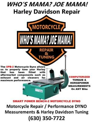 Who's Mama Joe Mama H D Cycle Repair