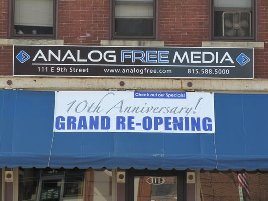 Analog Free Media