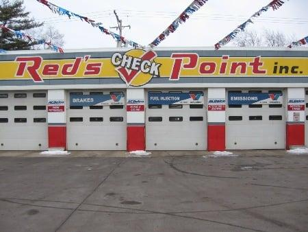 Red's Check Point