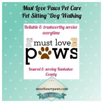 Must Love Paws Pet Sitting & Dog Walking