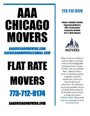 AAA Chicago Movers