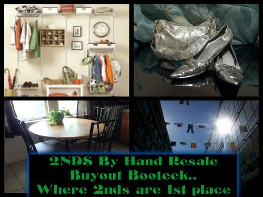 2nds By Hand Resale & Buyout Booteek