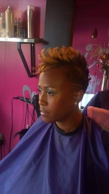 Tiff Hair Katoure Stylist