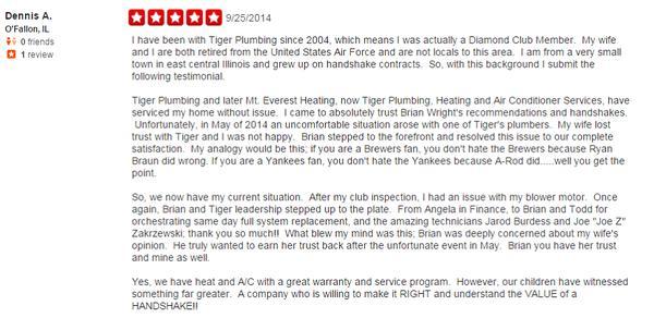 Tiger Plumbing, HVAC & Electrical Services