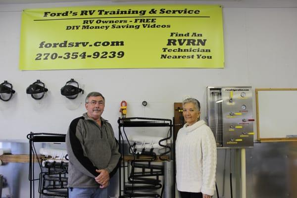 Ford's RV Training & Service