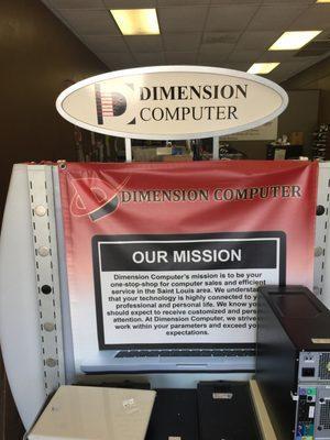 Dimension Computer