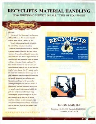 Recyclifts