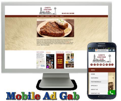 Mobile Ad Gab