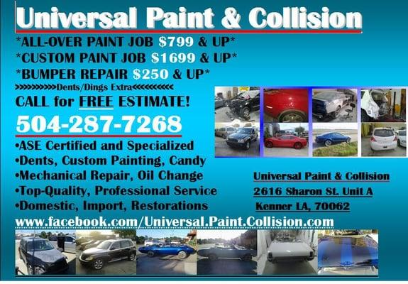 Universal Paint and Collision