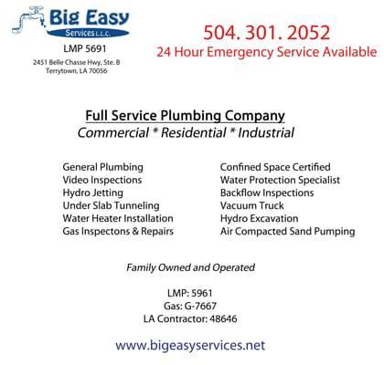 Big Easy Services