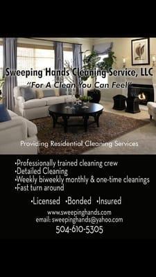 Sweeping Hands