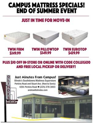Olinde's Mattress Superstore