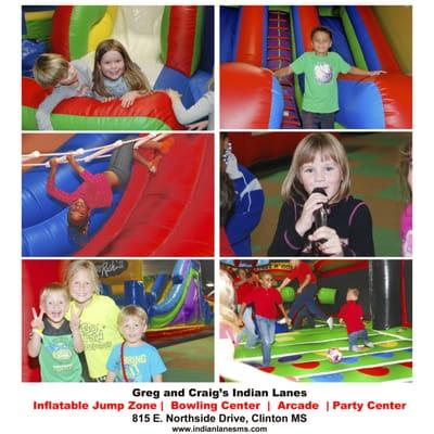 Indian Lanes Bowling Center, Jump Zone and Arcade