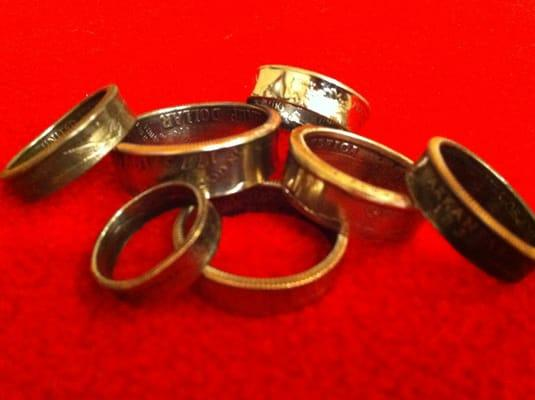 Cooter's Coin Rings