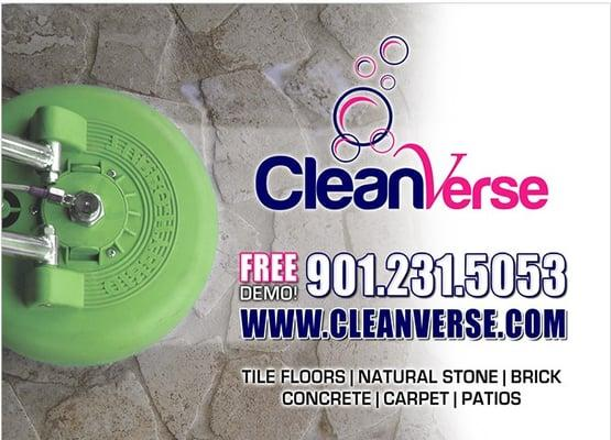 CleanVerse cleaning & hard Surface Restoration