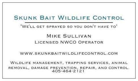 Skunk Bait Wildlife Control