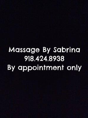 Massage By Sabrina