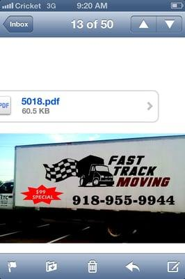 Fast Track Moving