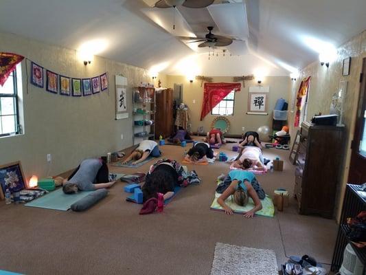 Yoga 4 Love Cabin Studio