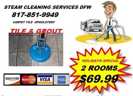 Steam Cleaning Services DFW