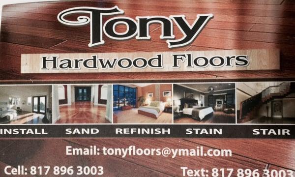 Tony Hardwood Floors Service