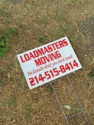 Loadmasters Moving Help