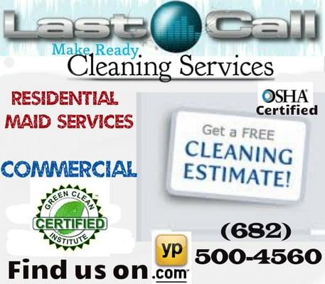 Last-Call Make Ready Cleaning Services