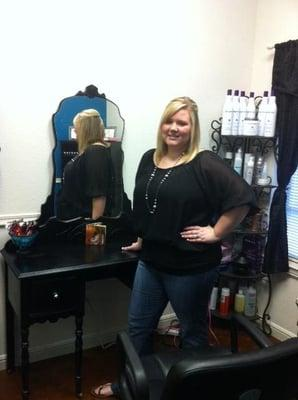 Shelby Marie at William Bruce Salon