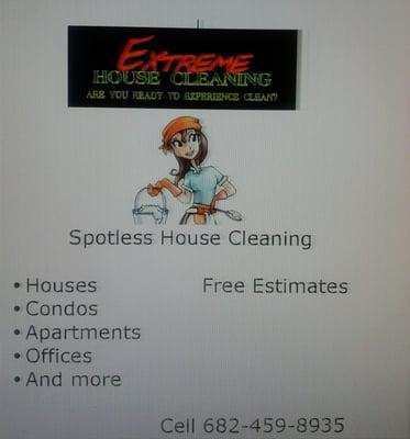 Spotless House Cleaning