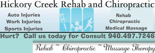 Hickory Creek Rehab and Chiropractic
