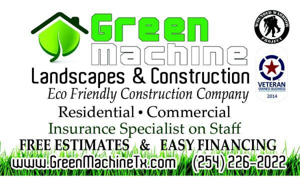 Green Machine Landscapes & Construction