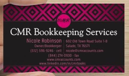 CMR Bookkeeping Services