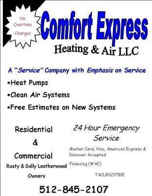 Comfort Express Heating & Air