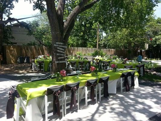 Table for Two Party Rentals