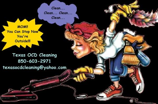 Texas OCD Cleaning