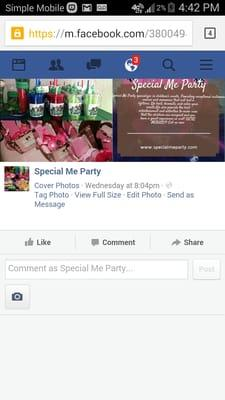 Special Me Party Planning & Events Catering